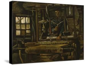 A Weaver's Cottage by Vincent van Gogh