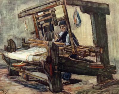 A Weaver by Vincent van Gogh