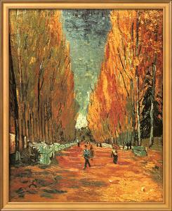 Allee des Alycamps by Vincent van Gogh