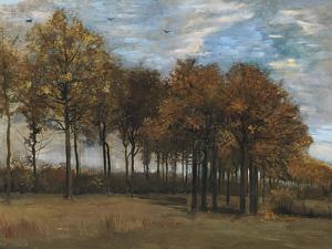 Autumn Landscape, C.1885 by Vincent van Gogh
