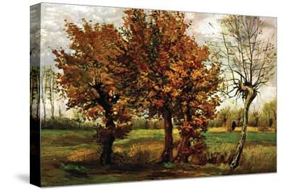 Autumn Landscape with Four Trees