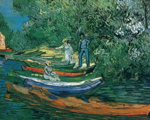 Bank of the Oise at Auvers, c.1890 by Vincent van Gogh