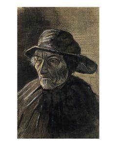 Beardless Fishman Wearing a Sou'wester by Vincent van Gogh