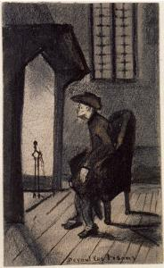 Before the Hearth by Vincent van Gogh