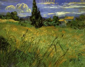 Bles Verts by Vincent van Gogh