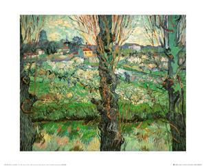 Blick Auf Arles, c.1889 (detail) by Vincent van Gogh