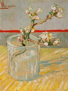 Blossoming Almond Branch in a Glass, c.1888 by Vincent van Gogh