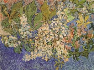 Blossoming Chestnut Branches, 1890 by Vincent van Gogh