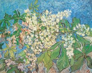 Blossoming Chestnut Branches, c.1890 by Vincent van Gogh