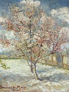 Bluehende Pfirsichbaeume (Souvenir De Mauve), 1888 by Vincent van Gogh