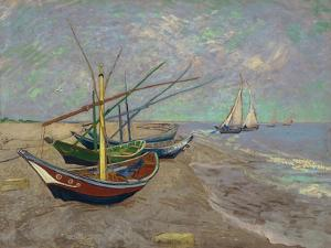 Boats, 1888 by Vincent van Gogh