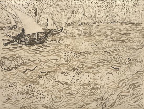 vincent-van-gogh-boats-at-saintes-maries-1888