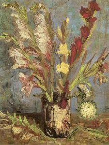 Bouquet of Gladioli, 1886 by Vincent van Gogh