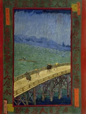 Bridge in the Rain (After Hiroshig), 1887