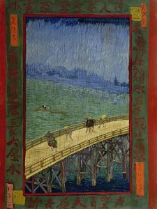 Bridge in the Rain (After Hiroshig), 1887 by Vincent van Gogh