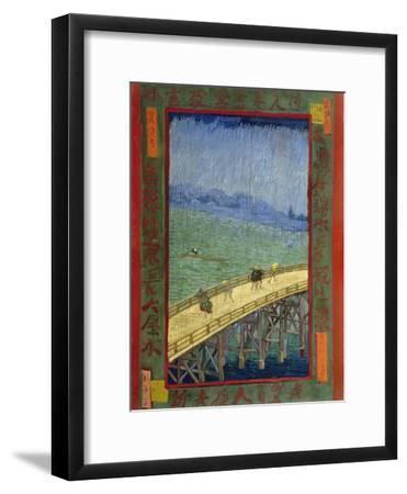 Bridge in the Rain (After Hiroshige)