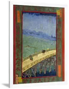 Bridge in the Rain (After Hiroshige) by Vincent van Gogh
