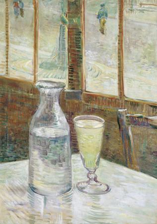 Cafe Table with Absinthe, 1887 by Vincent van Gogh