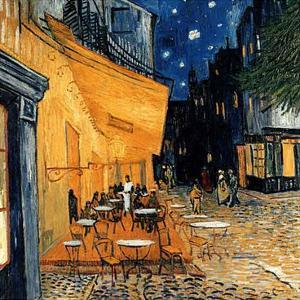 Cafe Terasse in the Evening by Vincent van Gogh