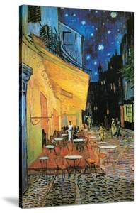 Cafe Terrace at Night (detail) by Vincent van Gogh