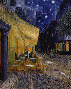 Cafe Terrace at Night by Vincent van Gogh