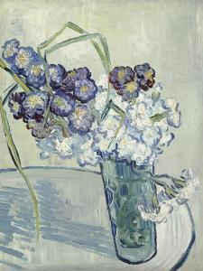 Carnations in a Vase, Auvers, June 1890 by Vincent van Gogh