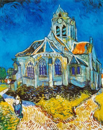 Church at Auvers, c.1894 by Vincent van Gogh