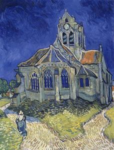 Church in Auvers-Sur-Oise, View from the Chevet. 1890 by Vincent van Gogh