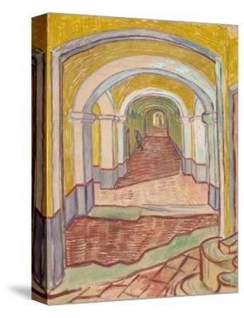 Corridor in the Asylum (St. Rémy)