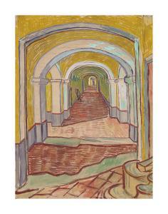 Corridor in the Asylum by Vincent Van Gogh
