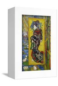 Courtesan: after Eisen by Vincent van Gogh