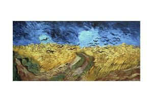 Crows over Wheatfield, 1890 by Vincent van Gogh