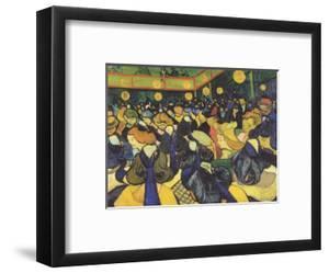 Dance Hall in Arles, France (Tanzsaal in Arles) by Vincent van Gogh