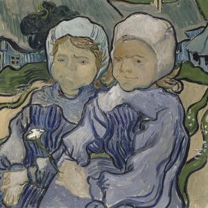 Deux fillettes by Vincent van Gogh