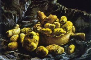 Earthen Bowls by Vincent van Gogh