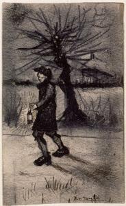 En Route by Vincent van Gogh