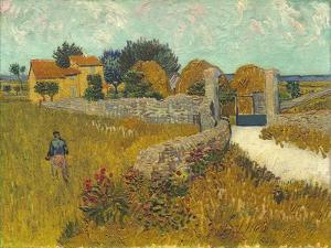 Farmhouse in Provence, 1888 by Vincent van Gogh