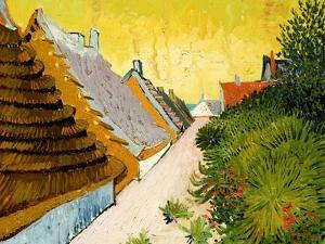 Farmhouses at Saintes-Maries, June 1888 by Vincent van Gogh
