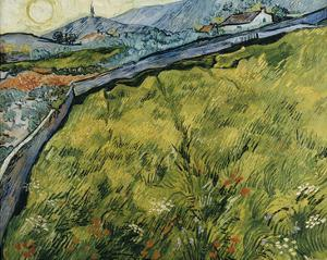 Field at Sunrise, 1890 by Vincent van Gogh