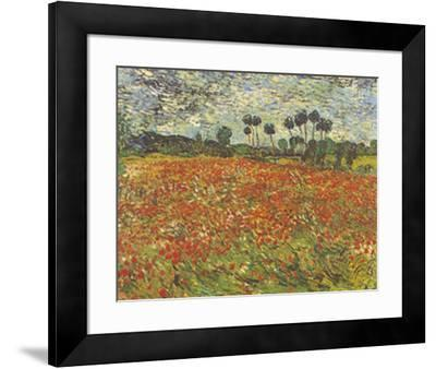 Field of Poppies Auvers-sur-Oise
