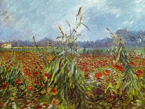 Field with Poppies by Vincent van Gogh
