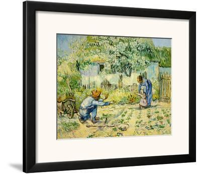First Steps by Vincent van Gogh
