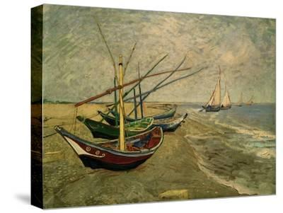 Fishing Boats on the Beach at Saintes-Marie-de-la-Mer, around June 5, 1888