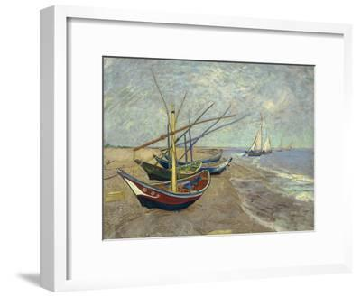 Fishing Boats on the Beach at Saintes-Maries-de-la-Mer, 1888
