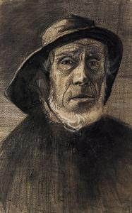 Fishman with a Sou'wester by Vincent van Gogh