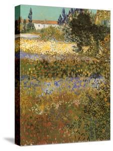 Flowering Garden, 1888 by Vincent van Gogh