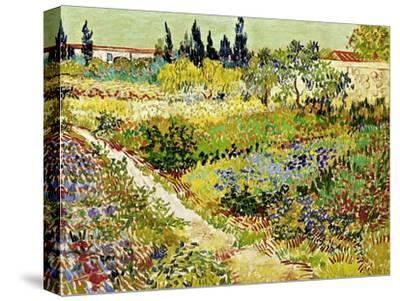 Flowering Garden with Path, Arles, 1888