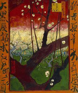Flowering Plum Tree (after Hiroshige), 1887 by Vincent van Gogh