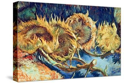 Four Cut Sunflowers, 1887