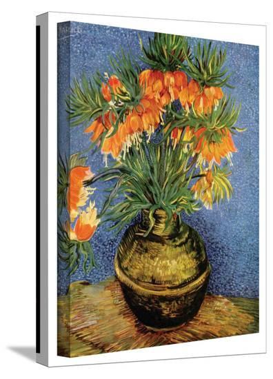 Vincent van Gogh 'Fritillaries' Wrapped Canvas Art-Vincent van Gogh-Gallery Wrapped Canvas